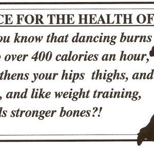 Dance Your Way to Good Health